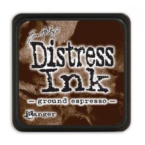 Чернила Дистресс мини Distress Ink Mini Ground espresso