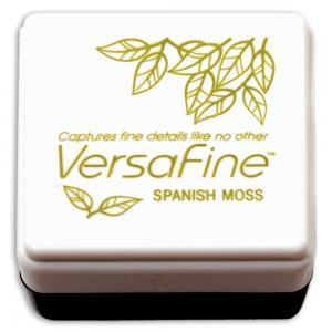 Чернильная подушечка VersaFine Pigment Mini Ink Pad Spanish Moss