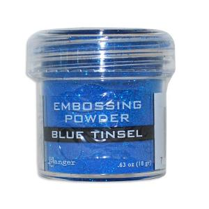 Пудра для эмбоссинга Ranger Embossing Powder Blue Tinsel