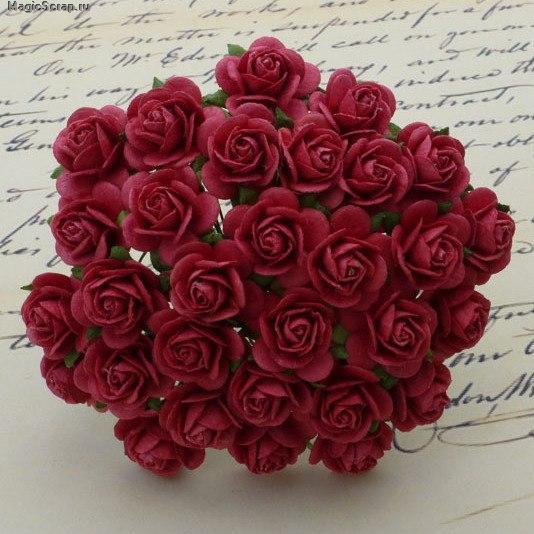 розы тёмные фото